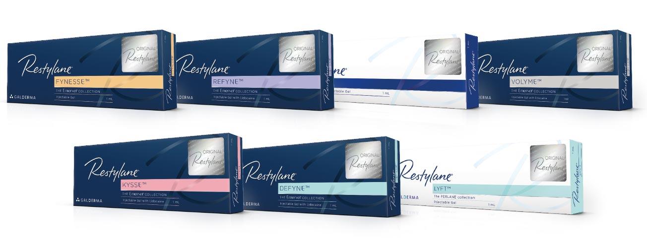 Restylane Filler Packshot