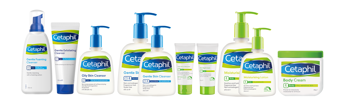 cetaphil 2020 all products