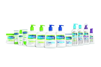 Skincare products - various Cetaphil products